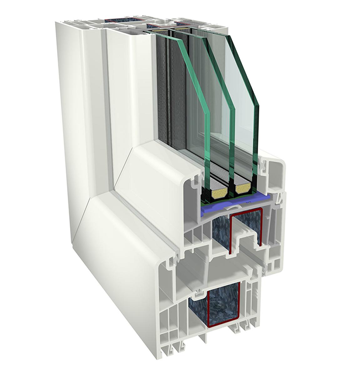 PVC S9000 prozori